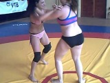 female wrestling Lidya vs Geri