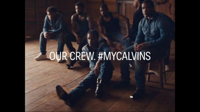 Calvin klein | our crew. mycalvins | A$AP mob