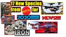 News!!! Mattel releasing 17 new specis in 2020 for Jurassic World line! New Carnotaurus and more!!!