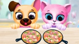 Cuidado de Mascotas Juegos - Kiki &amp Fifi Amigos de Mascotas - Gatito Peludo &amp Cuidado de Cachorros
