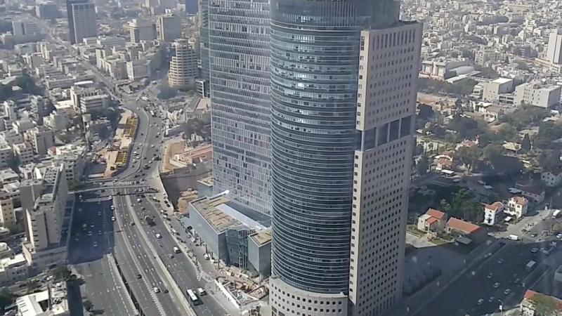 Тель Авив с Azrieli башни