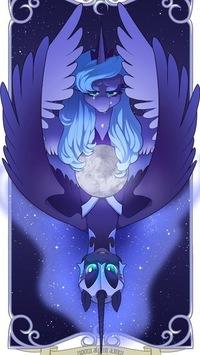 млп картинки луна