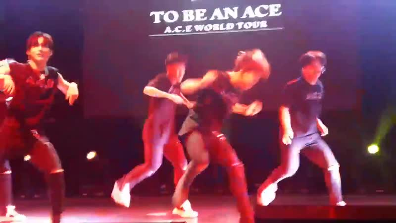 FANCAM | 16.11.18 | A.C.E (Good Boy) @ Fan-con 'To Be An ACE' in Argentina