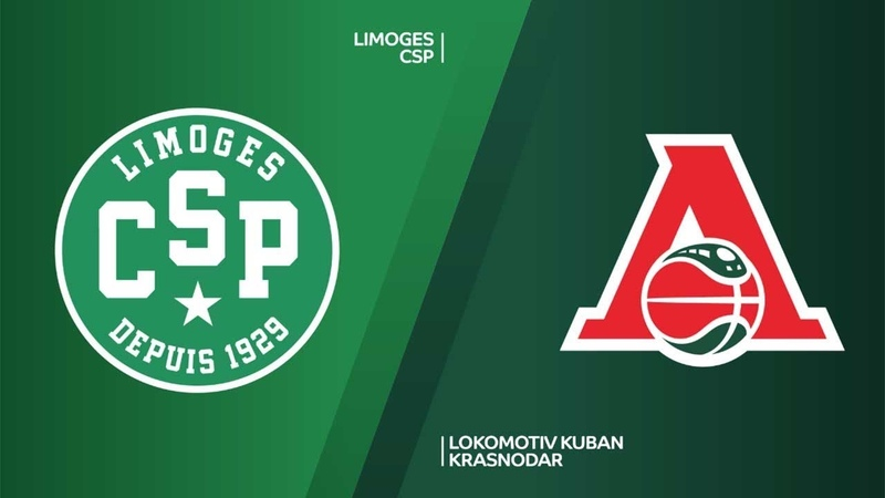 Limoges CSP - Lokomotiv Kuban Krasnodar Highlights | 7DAYS EuroCup, RS Round 7