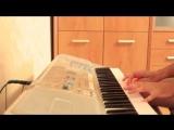 Весёлая мелодия на пианино (Kaoma -