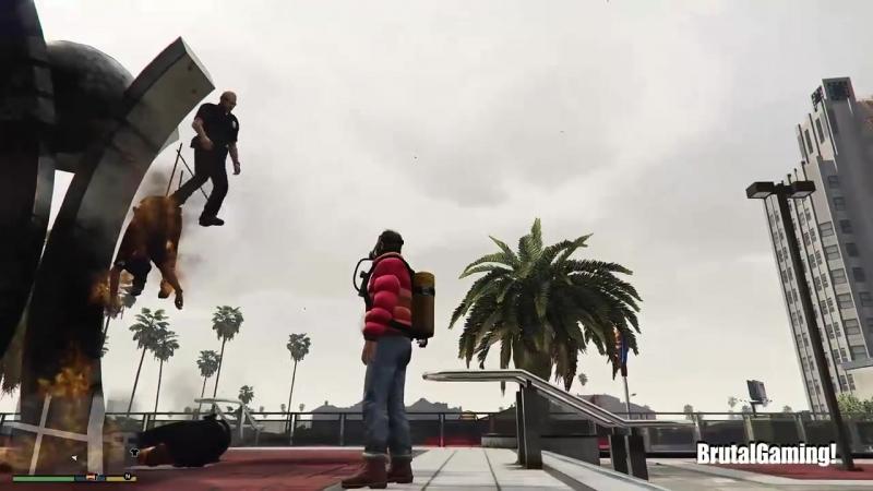 GTA 5 Brutal Kill Compilation (GTA V This is Los santos Funny Moments Fail Thug