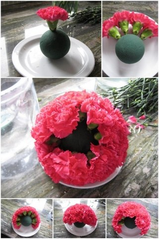 Как сделать шар из флор - Раум Профи