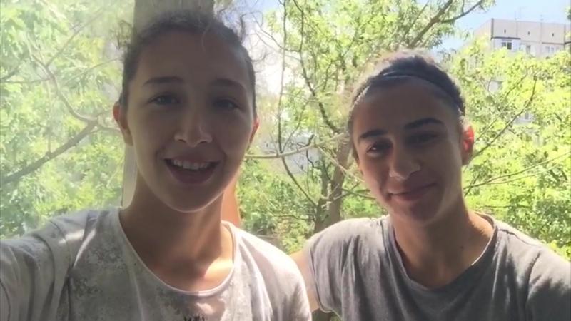 Футболистки основного состава ФК Кубаночка записали видеообращение в поддержку кубанских спортсменок
