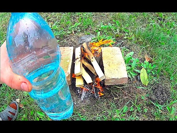 How to boil water in a plastic bottle Incredibly water boils in a plastic bottle