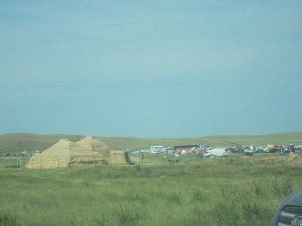 Аркаим, жилища каменного века