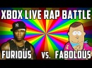XBOX LIVE RAP BATTLE! Straight Dude vs. Gay Dude (Black Ops 2 Funny Moments)