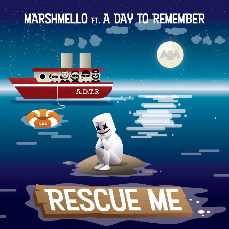 Marshmello - Rescue Me (feat. A Day to Remember) [single] (2019)