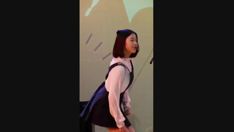 2018.11.24 버스터즈(Busters) 채연 - 피카부 2018 송파유스페스티벌