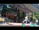Концерт на фестивале еды в Коврове