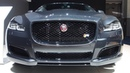 Jaguar XJ 5.0 V8 Supercharged SC 550pk Storm Grey - Exterior and Interior Lookaround