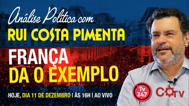 O caso Battisti e a perseguição contra a esquerda Transmissão da Análise na TV 247 18 12 18