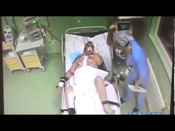 В Перми врач избивал пациента после операции на сердце.