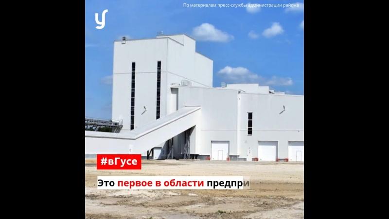 Открытие завода Кварцверке в Великодворском вГусе