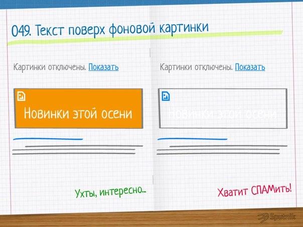 как написать в html текст поверх картинки
