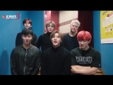 [VK][14.01.2018] message greeting from MONSTA X for KWAVE 3 MUSIC FESTIVAL in Malasia