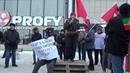 Выступление на митинге руководителя Левого Фронта в Казани Евгении Исламовой