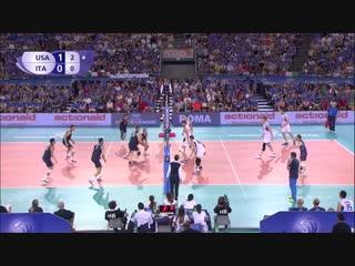 USA vs Italy 2016 World League