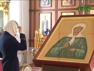В старейший храм в честь Казанской иконы Божией Матери привезли мощи Матроны Московской