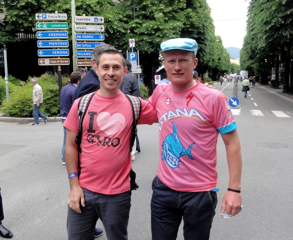 Александр Винокуров на Giro d'Italia