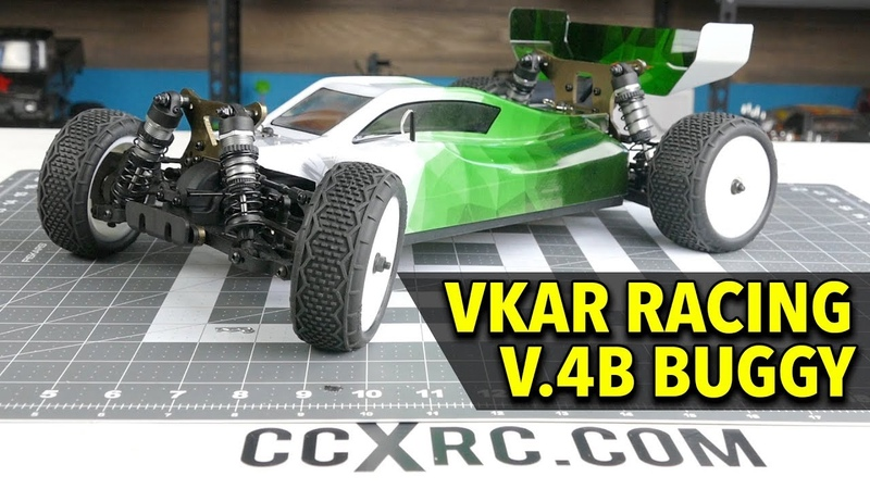 VKAR Racing v.4B 4WD RC Buggy UNBOXING In-Depth Look