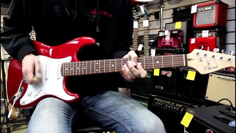 Демонстрация новинки - Chord RDM Guitar, SSS (HD)