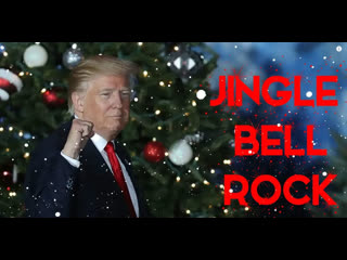Jingle bell rock cover by donald trump