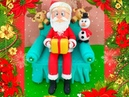Aula de Biscuit completa Papai Noel no sofá PARTE 02