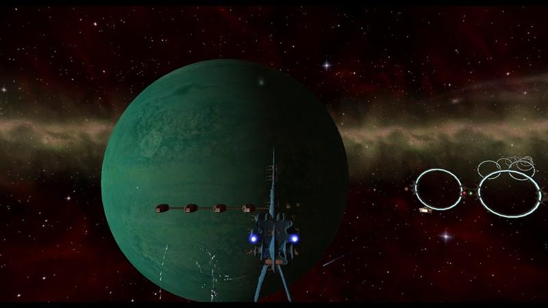 Космические сражения во Freelancer на корабле мембарцев из ВАВИЛОНА 5