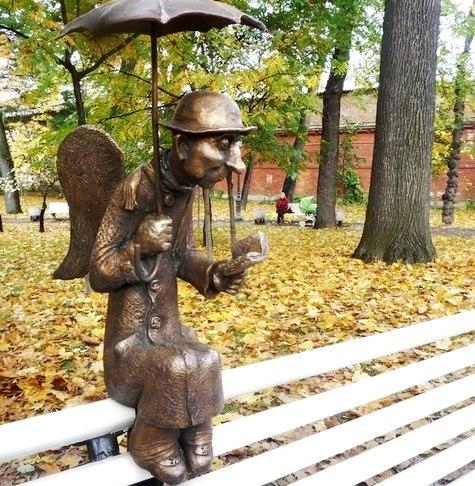 петербургский ангел в измайловском саду фото