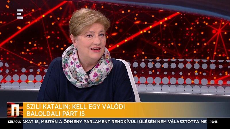 A nép leváltotta a jelenlegi ellenzéket - Szili Katalin - ECHO TV