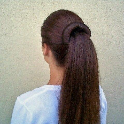 как собирать волосы твистером