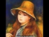 Pierre Auguste Renoir, peintre impressionniste fran