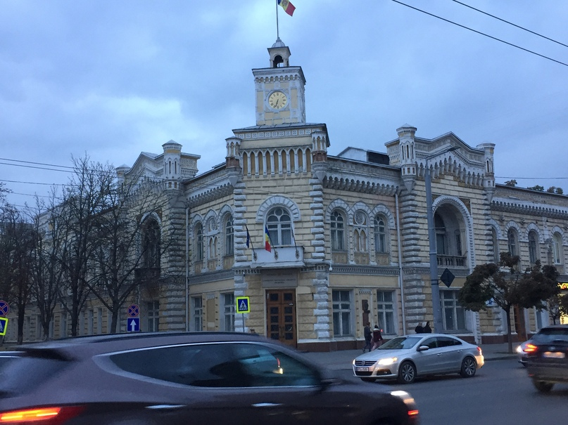 Путешествие в Молдавию и Приднестровье. Центр Кишинева