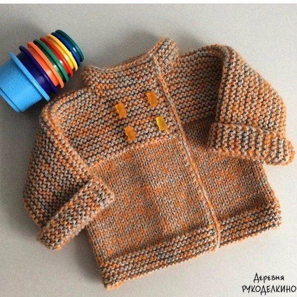 这是最简单的儿童开衫(没有任何的加减针) - maomao - 我随心动