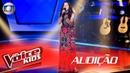 Шоу Голос Бразилия Kids 2017 Лара Валенте с песней Когда ты приходишь The Voice Kids Brasil 2017 Lara Valente canta Onde Anda Você