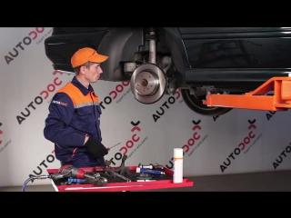 BMW E39 замена задних тормозных дисков и колодок своими руками