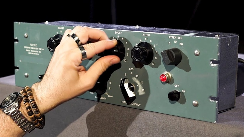A Vintage Pultec EQP-1A In Action