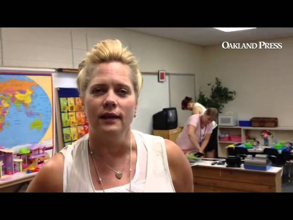 Waterford principal talks about advantages of attending preschool- inside former Waterford Village e