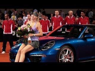 [HD} Maria Sharapova vs Ana Ivanovic Stuttgart 2014 Presentation Ceremony
