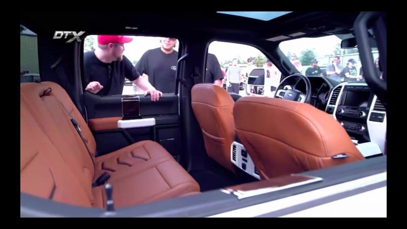 Мастерская Extensive - пневмоподвеска Ford F350 и выхлоп Carrera 911 для женщины