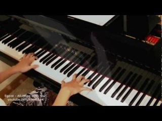 Psycho Pass ED2 - All Alone With You (EGOIST) - Piano