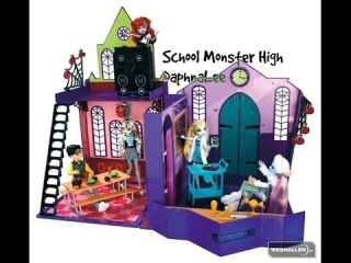 [Распаковка]#8 School Monster High♡Школа Монстр Хай♡Подарок на Новый год.