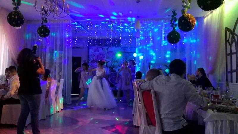 Флешмоб от невесты и её подружек 30.06.18