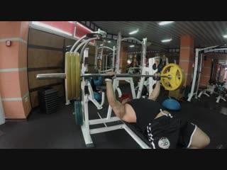 Тренировка груди, прокачка грудных мышц