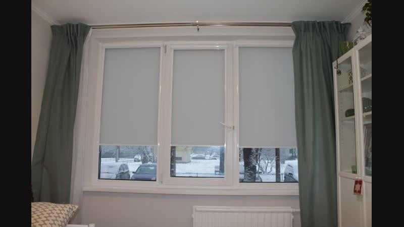 Рулонные шторы 2 ткань Сиде - Белградская 34к1